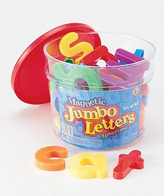 Jumbo Magnetic Lowercase Letters    -