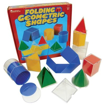 Folding Geometric Shapes, Set of 8   -