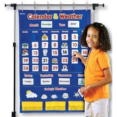 Calendar & Weather Pocket Chart   -
