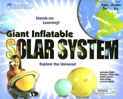 Inflatable Solar System Set   -