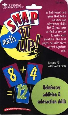 Snap it Up! Math: Addition/Subtraction  -