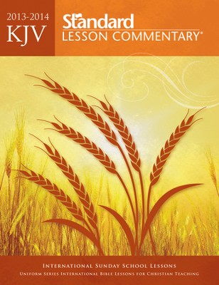 KJV Standard Lesson Commentary 2013-14, Large Print Edition  -