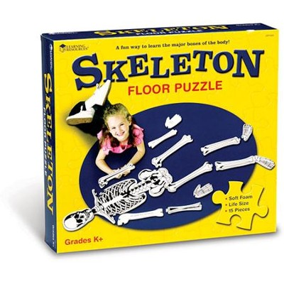 Skeleton Floor Puzzle   -