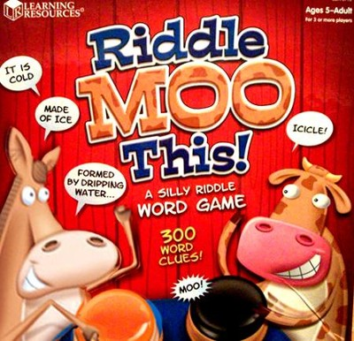 Riddle Moo This! A Silly Riddle Word Game   -