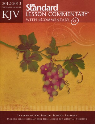 KJV Standard Lesson Commentary with eCommentary 2012-2013  -