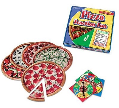 Pizza Fraction Fun Game   -