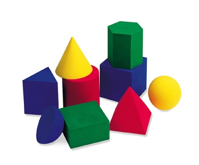 Hands-On Soft: Large Geometric Solids  -     By: Homeschool