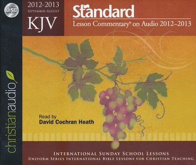KJV Standard Lesson Commentary on Audio - 2012-2013   -
