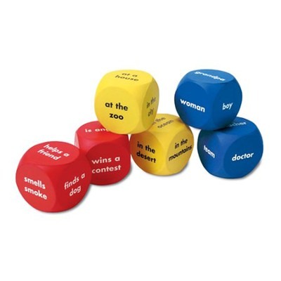 Soft Foam Story Starter Cubes, Set of 6   -