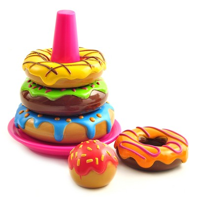 Smart Snacks: Stack 'em Up Doughnuts   -