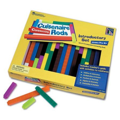 Connecting Cuisenaire Rods Intro Set   -