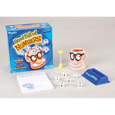 Head Full of Numbers Math Game   -