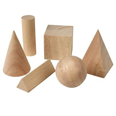 Basic Geometric Solids, Set of 6   -