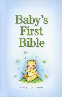 KJV Baby's First Bible, Blue  -     By: Zondervan