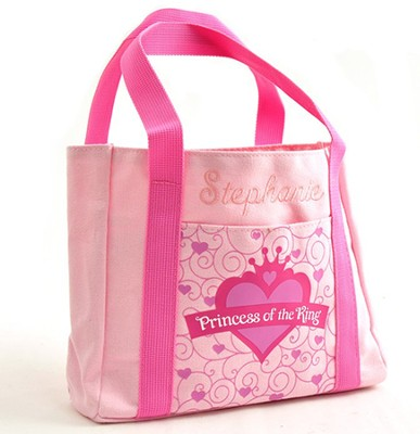 Personalized, My First Church Bag, Princess   -     By: Zondervan