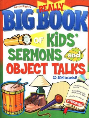 Gospel Light's Really Big Book of Kids' Sermons and   Object Talks with CD-ROM  -     By: Fred Barstad