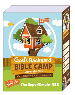 God's Backyard Bible Camp - Under the Sun VBS: SuperSimple VBS Kit - Slightly Imperfect  -