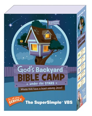 God's Backyard Bible Camp - Under the Stars VBS: SuperSimple VBS Kit  -