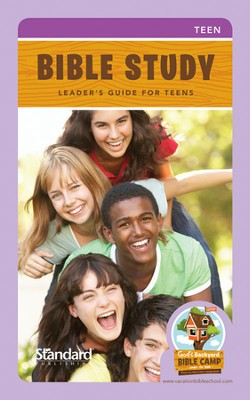 Under the Sun VBS: Bible Study Leader's Guide Teens  -