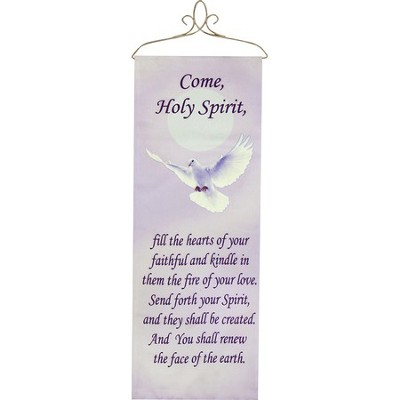Come Holy Spirit Wall Panel  -