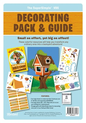 Under the Sun Decorating Pack and Guide   -
