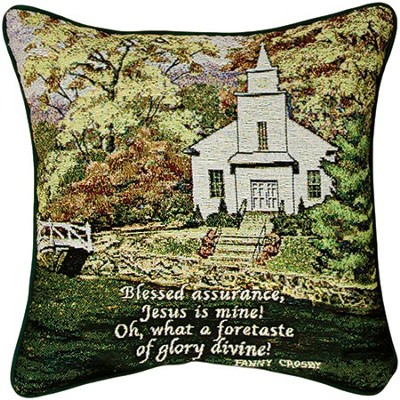 Blessed Assurance Pillow  -