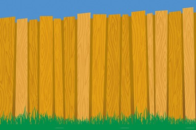 Under the Sun/Under the Stars VBS: God's Backyard Wall Mural  -