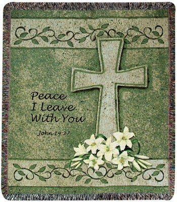 Peace I Leave With You Throw  -