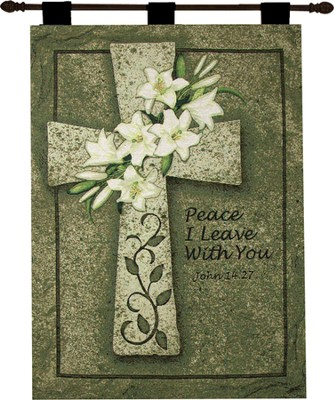Peace I Leave With You Wallhanging  -