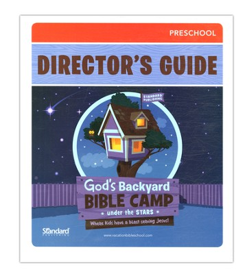 Under the Stars VBS: Preschool Director's Guide  -