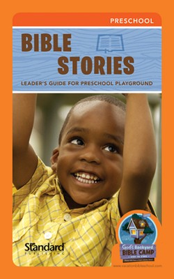Under the Stars VBS: Bible Stories Leader's Guide for Preschool Playground  -