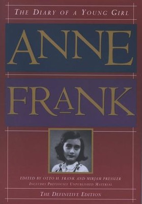 The Diary of a Young Girl: Anne Frank, The Definitive Edition   -     By: Anne Frank, Mirjam Pressler
