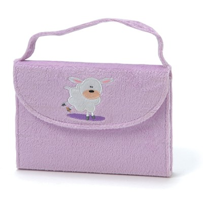 NIrV My Little Purse Bible, Furry/Purple Lamb    -