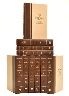 Keil & Delitzsch Commentary on the Old Testament, 10 Volumes: Updated Edition  -     By: C.F. Keil, F. Delitzsch