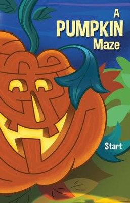 A Pumpkin Maze, Pack of 25 Tracts  -