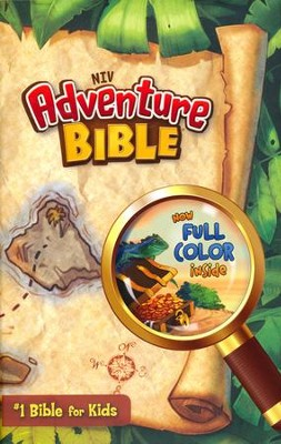 NIV Adventure Bible, Hardcover, Printed Caseside  -     By: Lawrence O. Richards