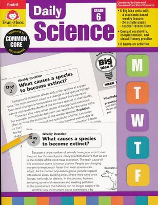 Daily Science, Grade 6   -