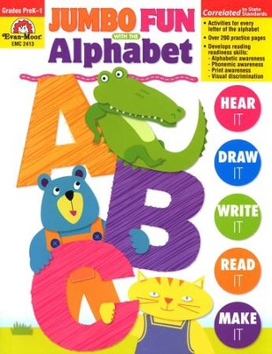 Jumbo Fun with the Alphabet Grades PreK-1   -