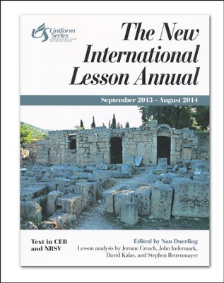 New International Lesson Annual 2013-2014  -     Edited By: Nan Duerling     By: Nan Duerling, ed.