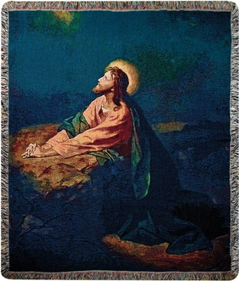 Garden of Gethsemane Throw  -