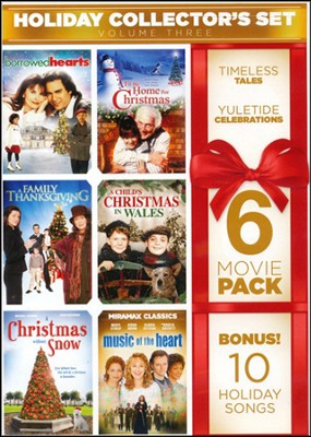 6-Film Holiday Collector's Set, Volume 3 with Bonus Audio: Home for the Holidays  -