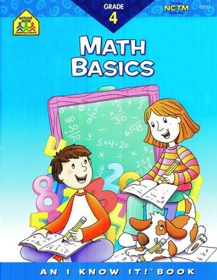 Math, Grade 4 I Know It! Series  -
