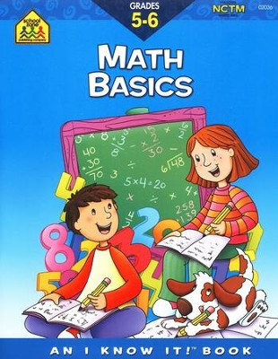 Math Basics, Grades 5 & 6, An I Know It! Book   -