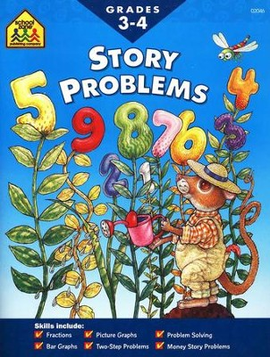 Story Problems, Grades 3-4   -