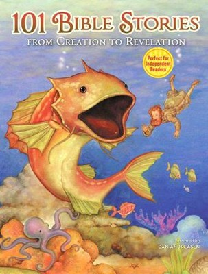 101 Bible Stories from Creation to Revelation  -     By: Maryn Roos, illus.    Illustrated By: Maryn Roos