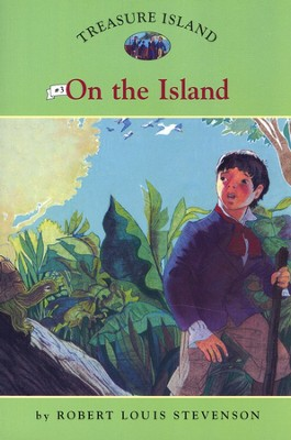 Treasure Island # 3: On The Island  -     By: Robert Louis Stevenson, Catherine Nichols     Illustrated By: Sally Wern Comport