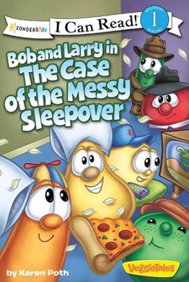 Bob and Larry in the Case of the Messy Sleepover  -     By: Karen Poth