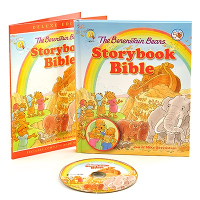 The Berenstain Bears Storybook Bible Deluxe Edition   -     By: Jan Berenstain, Mike Berenstain