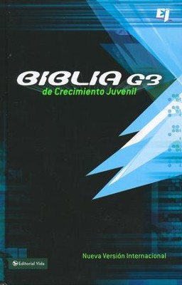 Biblia Devocional Juvenil G3, NVI  (NIV Teen Devotional Bible G3)   -