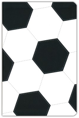 NIV Sports Collection Bible--soft leather-look with soccer design  -